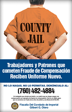 Workers' Comp Poster Spanish