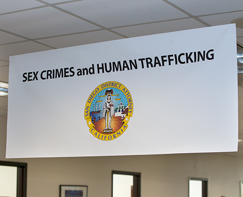 Sex Crimes & Human Trafficking – San Diego County District